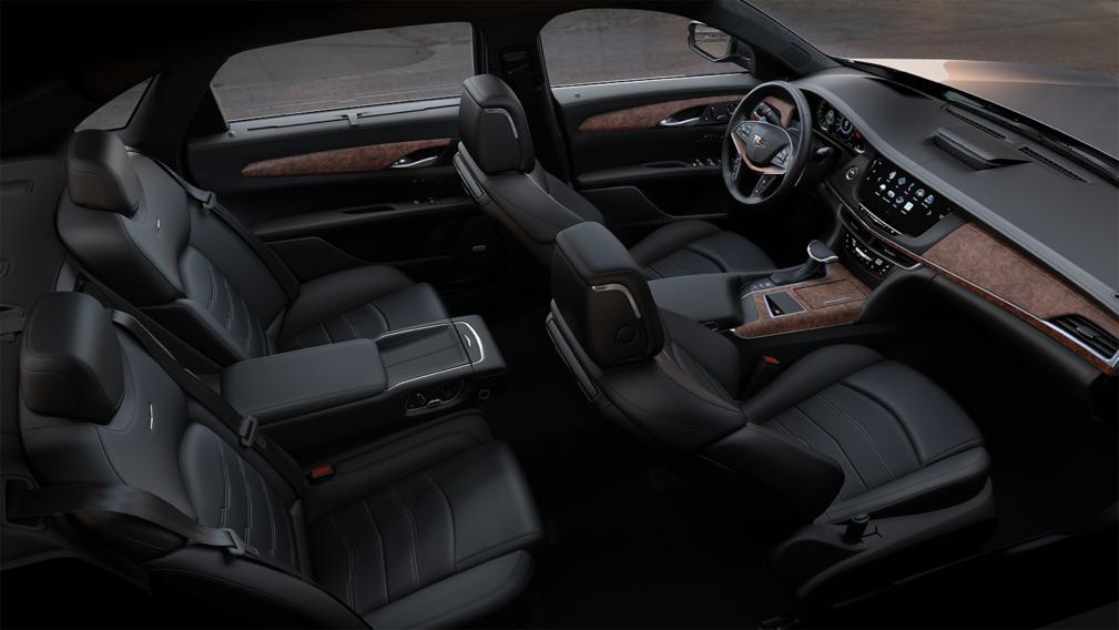 Black Cadillac CT6 – Black Car Limo