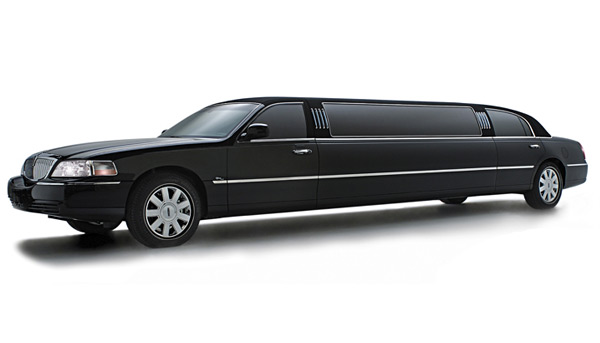 Lincoln Stretch Limo Black Car Limo